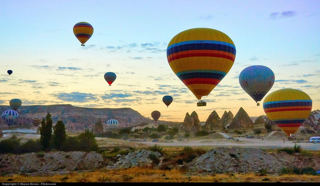 Balonlu Kapadokya Balayı Paketleri